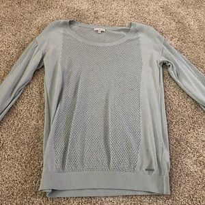 CALVIN KLEIN - Perforated Thin Sweater - M